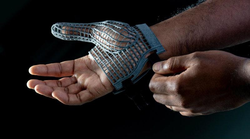 Перчатки из 3D-принтера | Фото: Jaguar