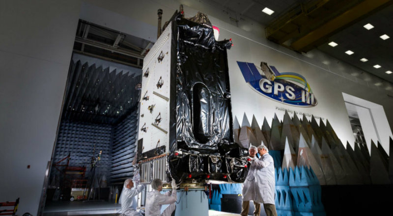 GPS III | Фото: https://spacenews.com/