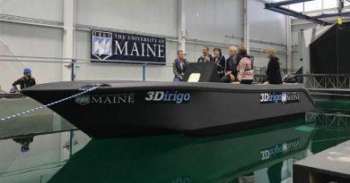 Лодка из 3D-принтера | Фото: soundingsonline