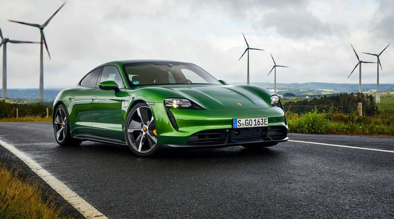 Porsche Taycan   Фото: popmeh