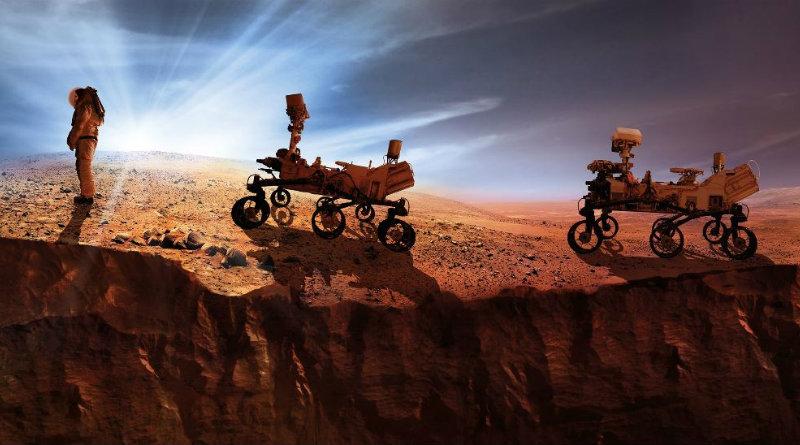 Человек на Марсе | Фото: ecotechnica
