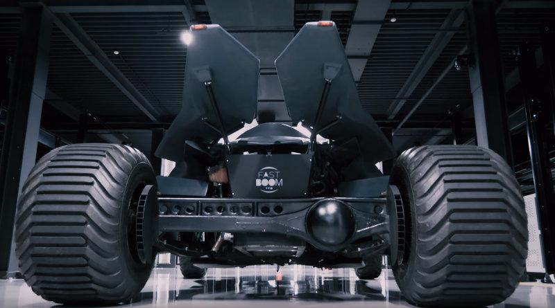 Бэтмобиль | Фото: chudo.tech