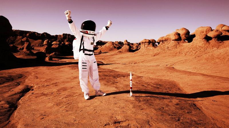 Человек на Марсе | Фото: kudago