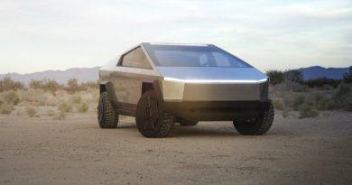 Tesla Cybertrack