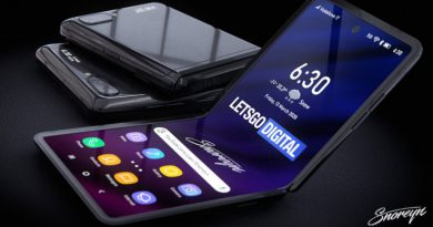 Samsung запатентовал новый складной смартфон