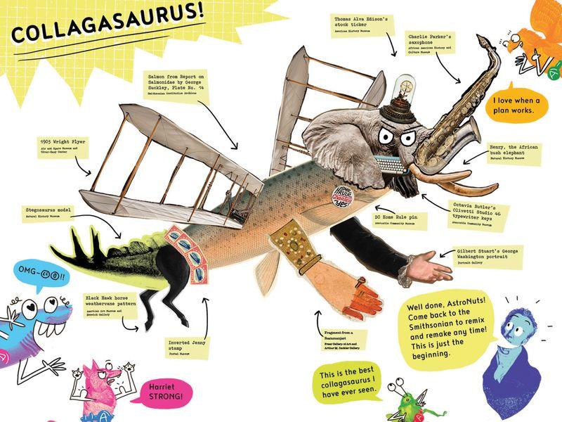коллажезавр