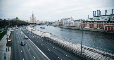 Движение в Москве уменьшилось на 80%