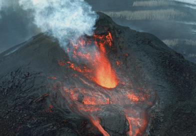 Дроны следят за вулканами