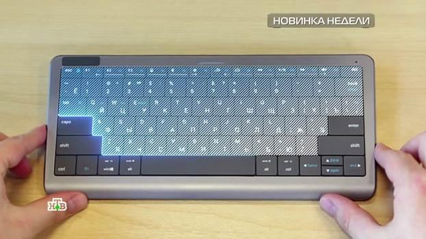 клавиатура тачпэд