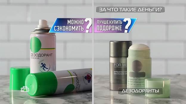 зчтд дезодоранты