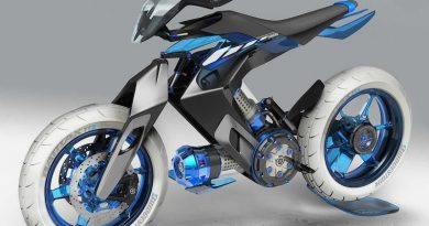 Мотоцикл на воде