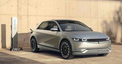 Cерийный электромобиль Hyundai Ioniq 5
